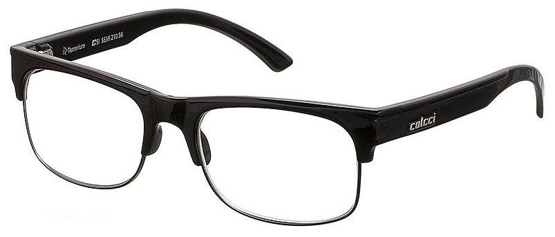 Armação Para Oculos De Grau Colcci Terrarium Cod. 553621056 Preto Brilho
