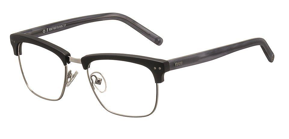 ca4372822 Armação Para Oculos de Grau Forum F6018A0651 Preto