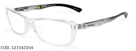 Armação Para Oculos De Grau Mormaii Diva Eye Cod. 127142154 Transparente Preto