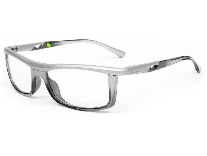 Armação Para Oculos de Grau Mormaii Fusion Full Cod. 133717854 Prata Com Fume