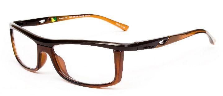 Armação Para Oculos de Grau Mormaii Fusion Full Cod. 133717954 Marrom