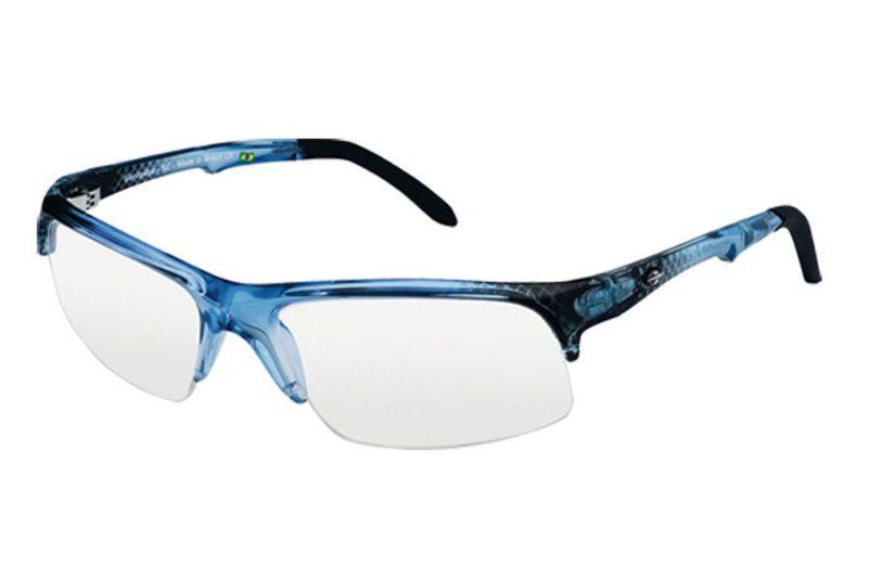 Armação Para Oculos De Grau Mormaii Itapuã 1 122069650 - Azul Transparente
