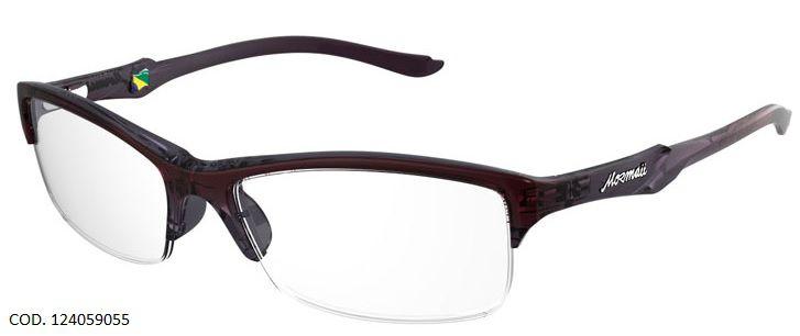 Armação Para Oculos de Grau Mormaii Malaga Cod. 124059055 Lilas