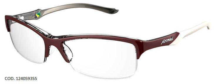 Armação Para Oculos de Grau Mormaii Malaga Cod. 124059355 Bordo Branco