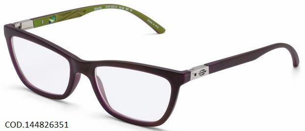 Armação Para Oculos De Grau Mormaii Mares Cod. 144826351- Marrom Verde