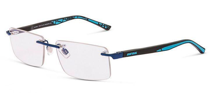 Armação Para Oculos De Grau Mormaii Mo1096 109678155 Azul Preto