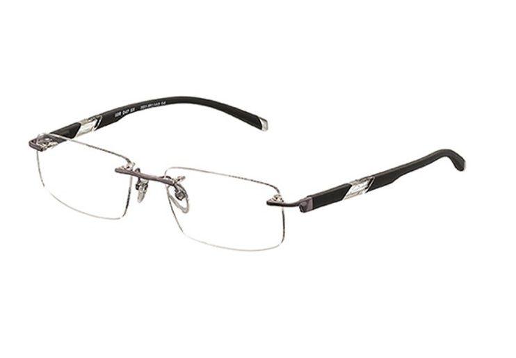 Armação Para Oculos De Grau Mormaii Mo1128 Cod. 112804755 - PRATA COM HASTES EM PRETO