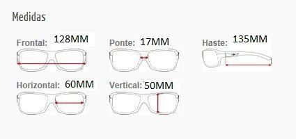 Armação Para Óculos De Grau Mormaii Mo 1572 Cod. 157249552