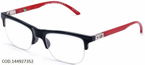 Armação Para Oculos De Grau Mormaii Oceanus Cod. 144927352 Preto Vermelho