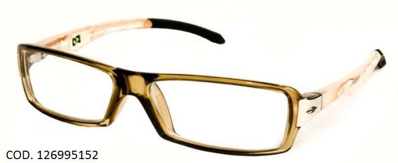 Armação Para Oculos De Grau Mormaii San Clemente Cod. 126995152 Marrom