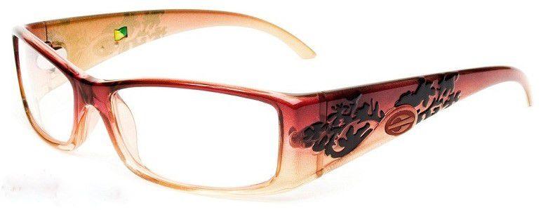 Armação Para Oculos de Grau Mormaii Shiva Eye Cod. 133618954 - Bordo Laranja
