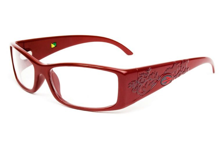 Armação Para Oculos de Grau Mormaii Shiva Eye Cod. 133619354 Vermelho Escuro