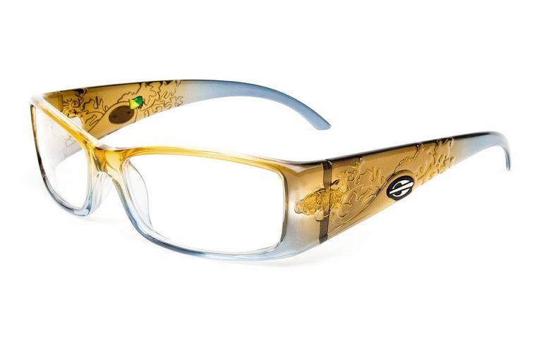 Armação Para Oculos de Grau Mormaii Shiva Eye Cod. 133619454 - Laranja Azul