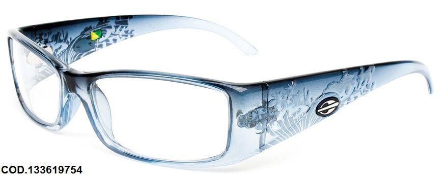 Armação Para Oculos de Grau Mormaii Shiva Eye Cod. 133619754 - Azul