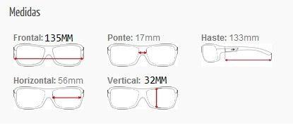 Armação Para Oculos De Grau Mormaii Ventus Cod. 127041556 - AZUL