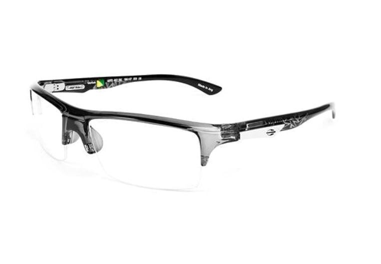 Armação Oculos Grau Mormaii Ventus 127041756 Cinza Translucido