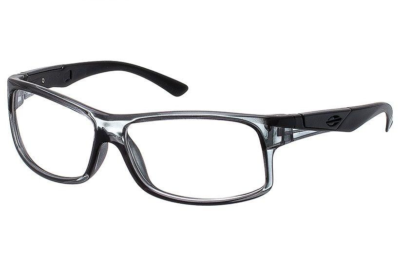 a47b478ab Armação Para Oculos De Grau Mormaii Vibe Cod. 112797254 - CINZA COM HASTES  EM PRETO