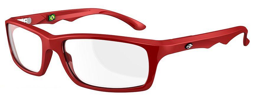 Armação Para Oculos De Grau Mormaii Viper Cod. M164204350 Vermelho Pequena