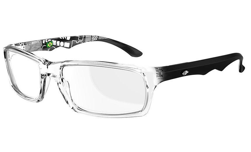 Armação Para Oculos De Grau Mormaii Viper Cod. M164241450 Transparente  Preto Pequena 2d244ae134