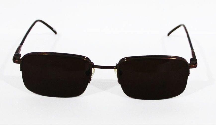 Armação Para Oculos Grau com Clip On SP1023 Marrom