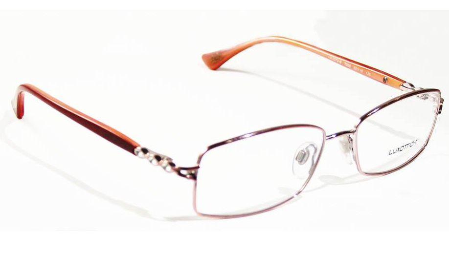 Armação Para Oculos Grau Luxottica LU2272-B T359 Vermelho - Loja ... 6f8fa5298d
