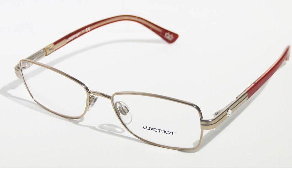 5aae22029 Armação Para Oculos Grau Luxottica LU2287B T407 Vermelho