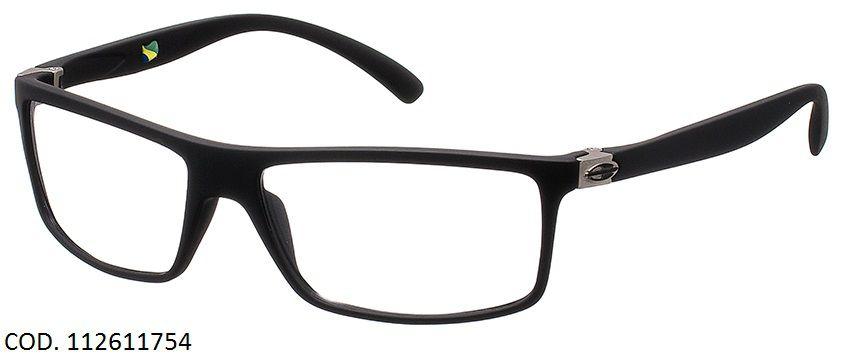 Armação Para Oculos Grau Mormaii Eclipse Full Cod. 112611754 Preto Fosco
