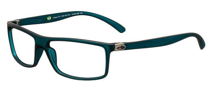 Armação Para Oculos Grau Mormaii Eclipse Full 1126K0454 Verde Fosco
