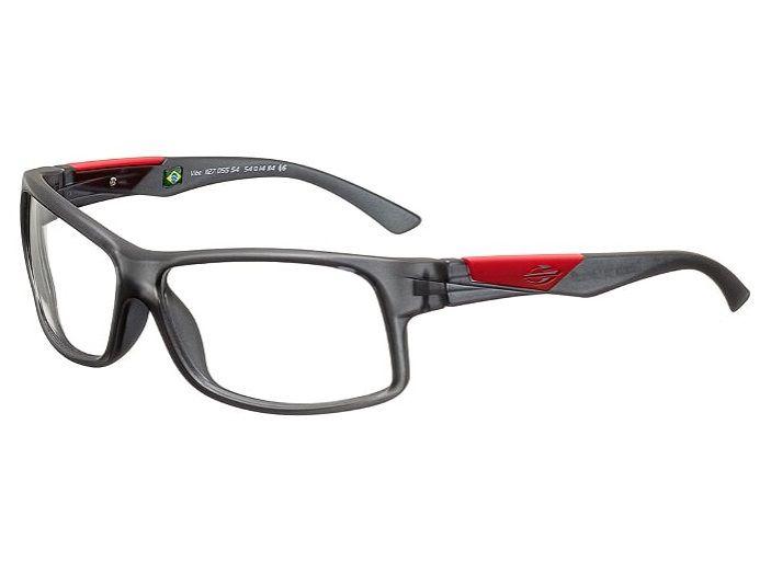 Armação Para Oculos Grau Mormaii Vibe Cod. 1127D5554 Fumê