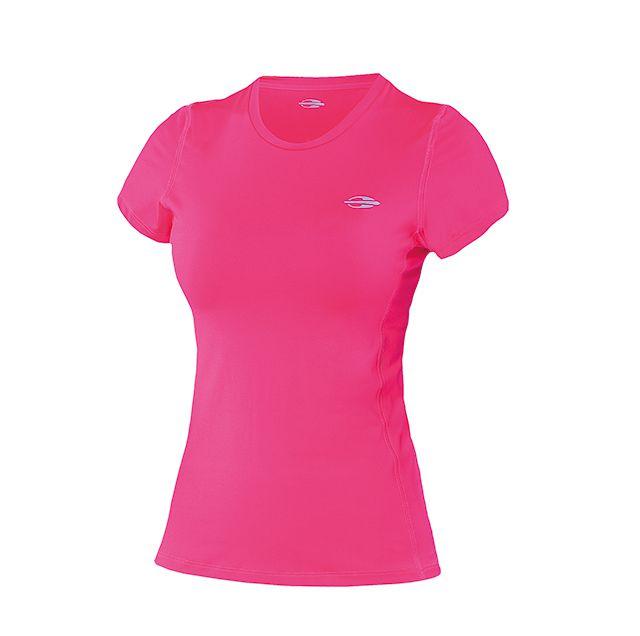 3cc48f0ba728d Camiseta Mormaii Feminina Manga Curta Body Fit Proteção UV Rosa 507UVBFF