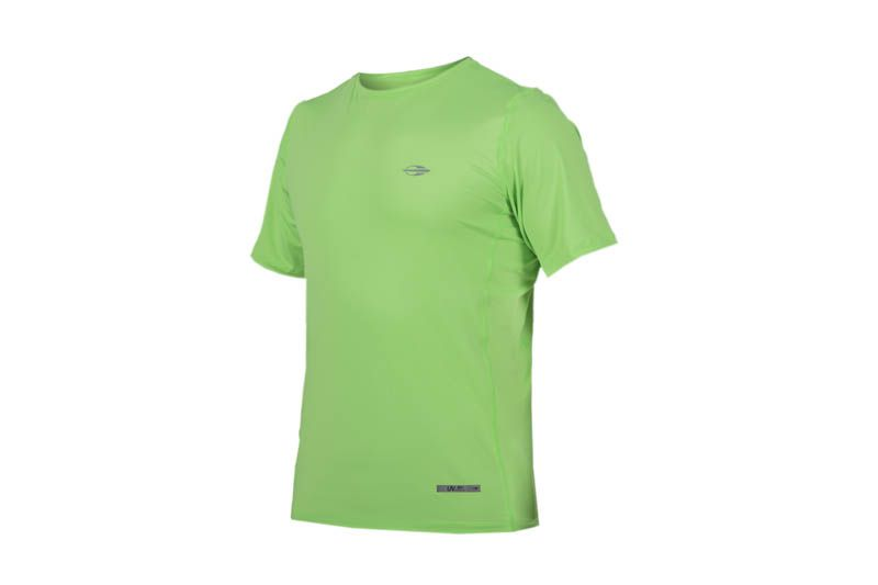 fd2f92211f5c8 Camiseta Mormaii Masculina Manga Curta Body Fit Proteção UV Verde S507UVBFM
