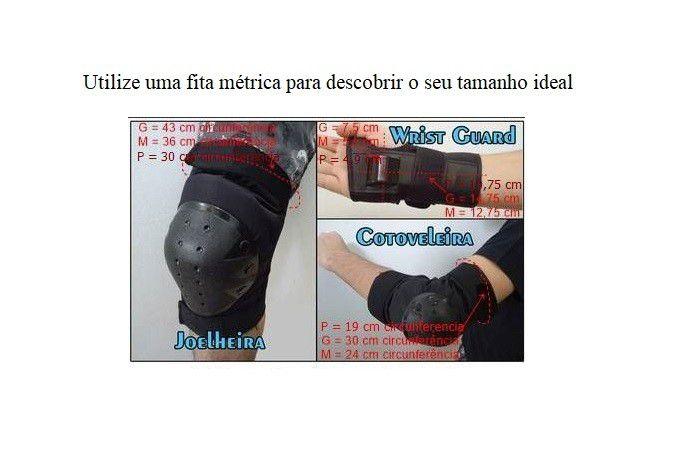 Kit Proteção Mormaii Skate Joelheira Cotoveleira Tamanho M
