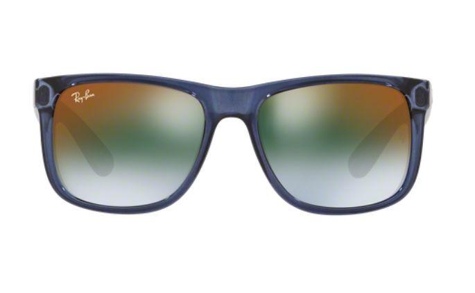 4d205bf1b ... italy oculos de sol ray ban justin rb4165 6341t0 55 azul lente verde  degradÊ espelhado 67095