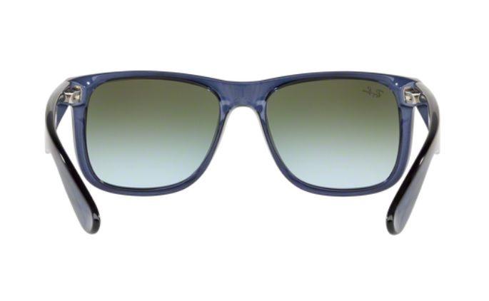 1e7a23c974fd1 ... italy oculos de sol ray ban justin rb4165 6341t0 55 azul lente verde  degradÊ espelhado e5811