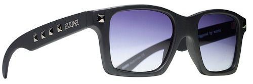 Oculos Evoke Trigger Black Matte Gun Pins Gray Gradient