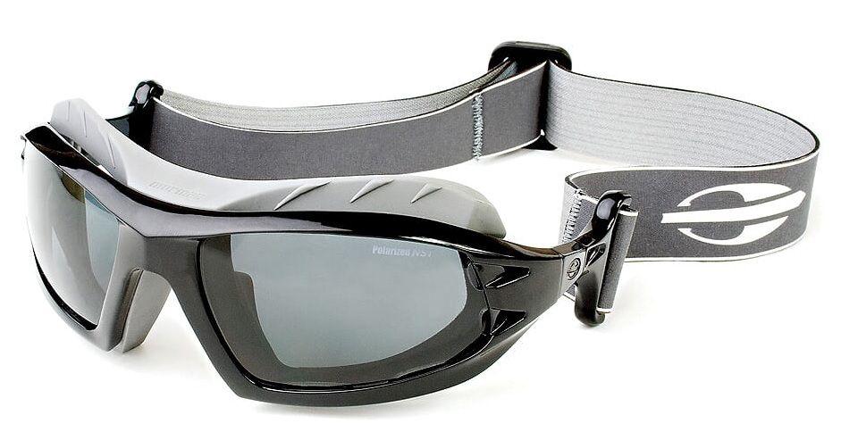 Oculos Sol Mormaii Floater 25121068 Preto Brilho Lente Cinza Polarizada