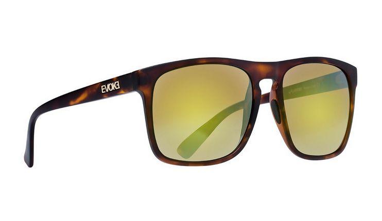 Oculos Solar Evoke EVK 18 Turtle Matte Gold Flash Gold