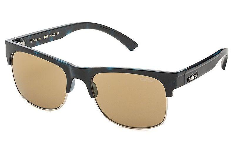 Oculos Sol Colcci Terrarium 502623708 Azul Lente Dourada Espelhada