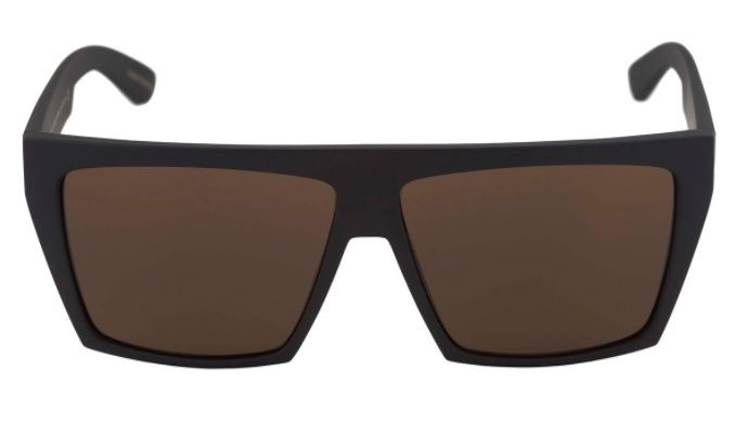 Oculos Sol Evoke Evk 15 NA01G Black Matte Gold Brown Total