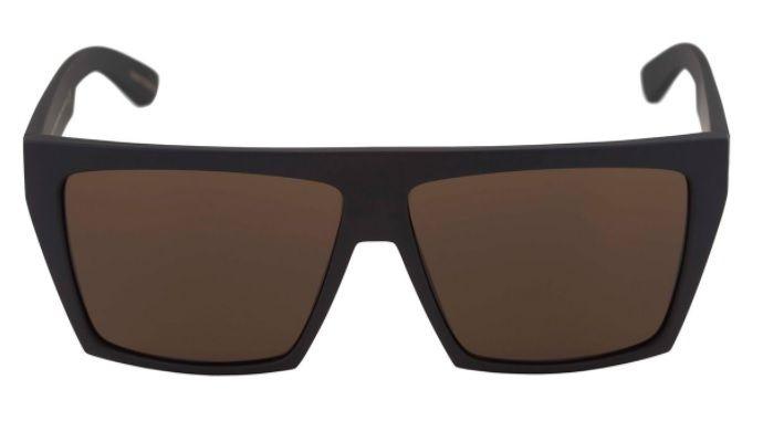 Oculos Sol Evoke Evk 15 NA01G Black Matte Gold Brown Total