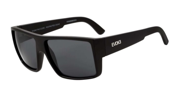 OCULOS SOL EVOKE THE CODE SNK A01 COURO BLACK SNAKE SILVER GRAY TOTAL 417be4ad9c