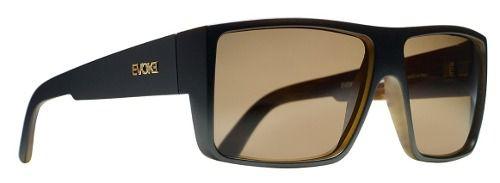 Oculos Sol Evoke The Code WD21 Black Wood Gold Brown Total