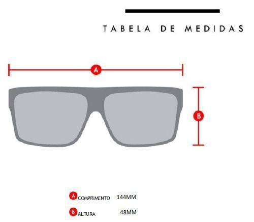 Oculos Sol Evoke Thunder A14S Black Matte Blue Mirror