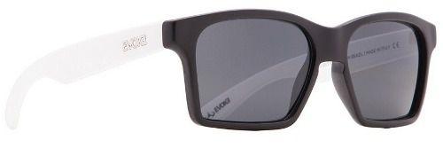 Oculos Sol Evoke Thunder AB11 Black Temple White Matte Gray Total