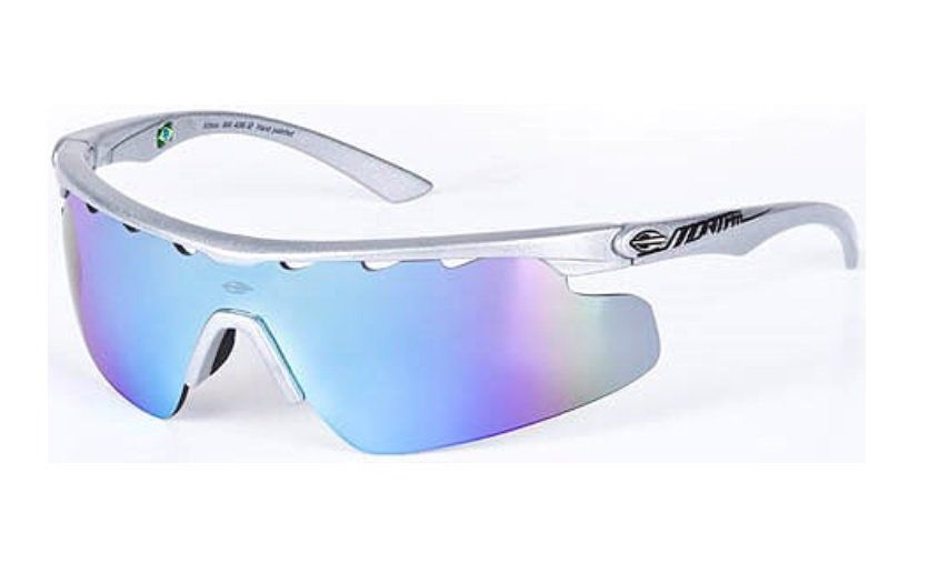 Oculos Sol Mormaii Athlon 16643612 Cinza Lente Azul Espelhada