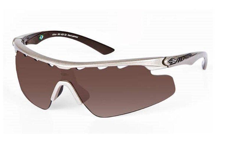 Oculos Sol Mormaii Athlon Com 2 Lentes 16643302 Creme Lente Marrom