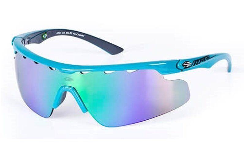 103a44f733a72 Oculos Sol Mormaii Athlon Com 2 Lentes 16643485 Azul Turquesa Lente Verde  Espelhada