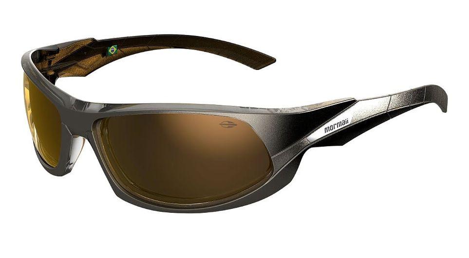 Oculos Sol Mormaii Itacare 2 41203781 Chumbo Lente Dourada Espelhada