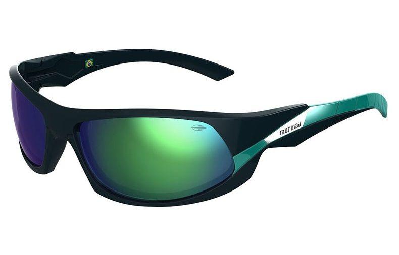Oculos Sol Mormaii Itacare 2 41205185 Azul Marinho Lente Verde Espelhada