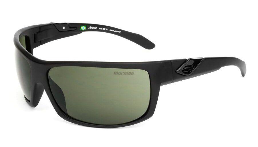 Oculos Solar Mormaii Joaca 34533171 Preto Fosco Lente Verde Polarizada